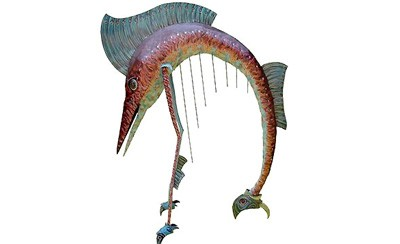 Musical High-Heeled Swordfish Harp