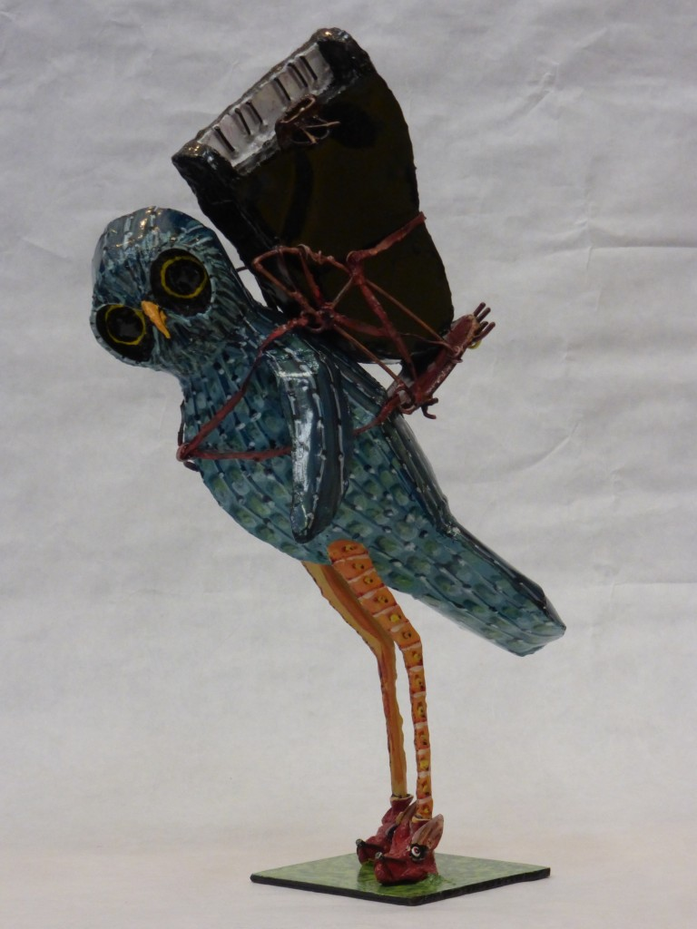 How tall is this Pianowl from the Owlfactory?  20 inches that is howl towl.